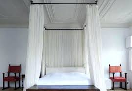 Curtains For Canopy Bed How To Make Canopy Bed Curtains Kellycaresse