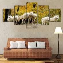 popular wolf wall art buy cheap wolf wall art lots from china wolf