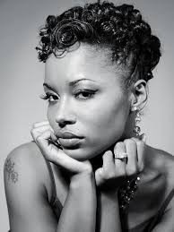 cute pin up hairstyles for black women retro look pin curls on short african american hair beauty