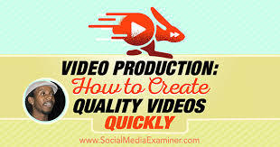 how to make fan video edits video production how to create quality videos quickly social