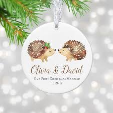 our married ornament 2017