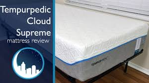 Cooling Mattress Pad For Tempurpedic Tempurpedic Cloud Supreme Breeze Mattress Review Youtube