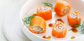 raifort cuisine roulades de saumon au raifort facile et pas cher recette sur
