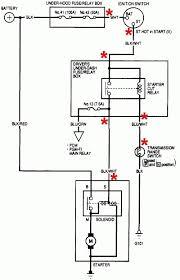 2003 honda accord starter wiring diagram 2003 hyundai xg350