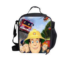 buy kids boys novelty fireman sam cartoon character slipper