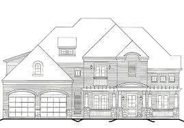 front garage house plans walkers bluff front load garage gary ragsdale inc southern