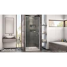 28 Shower Door Dreamline Flex 28 To 32 In W X 72 In H Pivot Shower Door Shdr