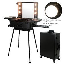 portable lighting for makeup artists professional makeup trolley professional makeup trolley