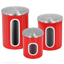 kitchen canister sets stainless steel 3pcs kitchen canister set stainless steel airtight container lid