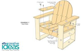 Wood Deck Chair Plans Free by Free Plans For An Easy Adirondack Chair Woodwork City Free
