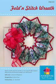 290 best fold n stitch wreath ideas images on pinterest wreath