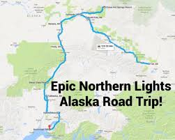 northern lights location map this road trip takes you to the best places to see the northern
