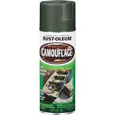 rust oleum specialty camouflage aerosol deep forest green