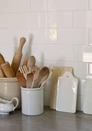 pot à ustensiles de cuisine les pots à ustensiles en céramique thema objets déco