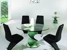 Glass Round Kitchen Table Dining Table Iron Glamourous Kitchen Table Sets Glass Dining