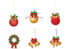christmas ornament vector pack download free vector art stock