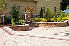 Patio Retaining Wall Ideas Retaining Wall Design U0026 Construction Moscarino Outdoor Creations