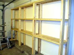 Build Wood Bookcase Plans by Diy Garage Shelves Plandiy Storage 2 4 Build Video U2013 Venidami Us