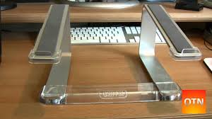 griffin elevator laptop stand review youtube