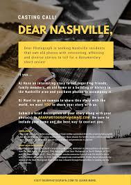 Is Seeking Dear Photograph Dear Photograph Is Seeking Nashville Residents