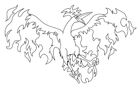 articuno pokemon coloring pages getcoloringpages com