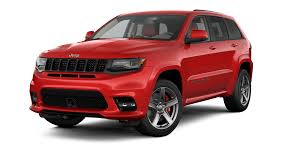 red jeep cherokee jeep grand cherokee srt luxury performance suv
