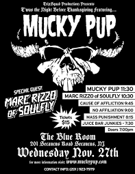dri postpones dates nyc w mucky pup in 2014