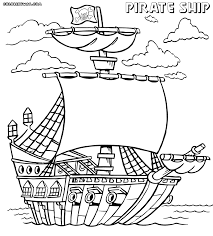 pirate ship coloring pages pirate ship coloring pages to print