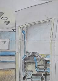 drawing and painting interiors 2 u2013 quick sketches around the house