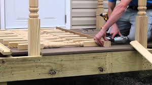 Fitting Banister Spindles How To Install Deck Spindles From S U0026l Spindles Youtube