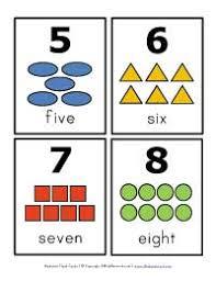 free printable number flashcards 1 20 number flash cards all kids network