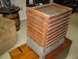 Kitchen Collectables Antique Cook Stove Fruit Dryer Dehydrator 8 Drawers Ebay
