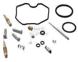 complete atv carburetor rebuild kit for 99 04 honda trx250 te