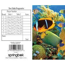 two table progressive tally aquatic collection bridge tally sheet 91683640133 calendars com