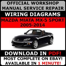 mazda mx 5 car service u0026 repair manuals ebay