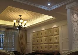 leather walls buckle up faux leather ceiling tile dct lrt02
