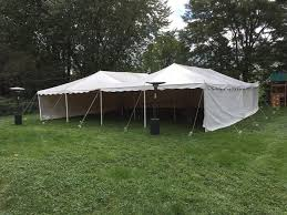 canopy for rent two 20 x 40 canopy tents with sides and heaters yelp