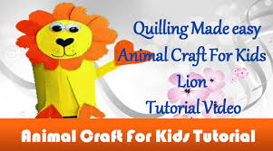 diy craft ideas how to make beautiful lion animal craft for kids