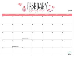 2017 printable calendar for moms imom