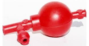 Popular Aspirador de goma con válvulas para pipeteo. Tienda Agropecuaria  #BY35