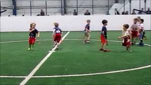 Youth Flag Football Practice Nfl Youth Flag Football Youtube