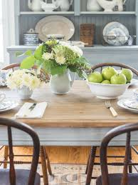 how to make a new table look old hgtv