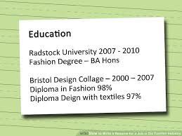 Resume For Fashion Designer Job Ozone Depletion Research Papers Creative Resume Samples Best