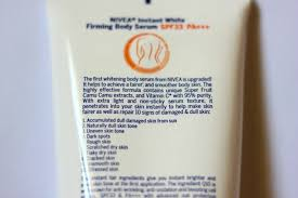 Nivea Serum Vit C nivea instant white firming serum review