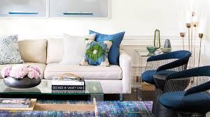 interior design u2013 tour a bright family home with pops of color