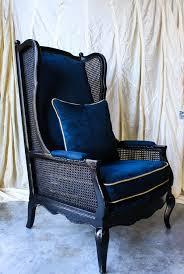 Blue Suede Chair Furniture Revival U2014 Hudson Louie