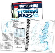 Southern Ohio Map by Northern Ohio Fishing Map Guide Sportsman U0027s Connection Jim