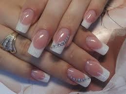 rhinestone nail art style samba
