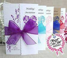 Purple And Silver Wedding Invitations Silver Wedding Invitations Ebay