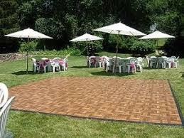 portable floor for outdoor wedding on se